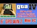 GPD WIN 2 GTA IV 4 - 128 GB SSD 8GB RAM Mini PC Intel m3-7Y30 HD Graphics 615