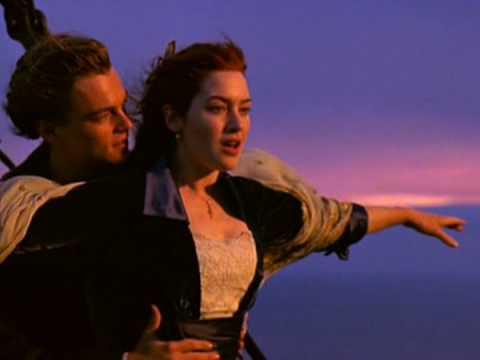 Titanic - I-m Flying Scene