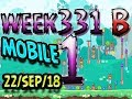 Angry Birds Friends Tournament Level 1 Week 331-B  MOBILE Highscore POWER-UP walkthrough