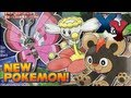 Pokémon X and Y - More New Pokémon and Rival Characters | June CoroCoro Scans