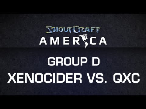 ShoutCraft America - Group D - Xenocider vs. qxc BO3