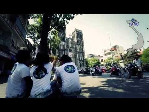 Du lịch xuyên Việt của các bạn trẻ