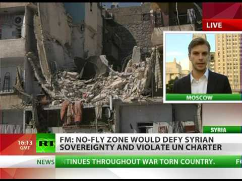 No no-fly zone: 'Military intervention in Syria will lead to catastrophe'