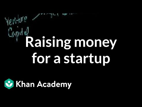 Raising money for a startup