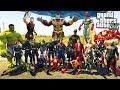 МСТИТЕЛИ: ВОЙНА БЕСКОНЕЧНОСТИ И ТАНОС ГТА 5 МОДЫ! ОБЗОР МОДА В GTA 5 веселая видео игра как мультик