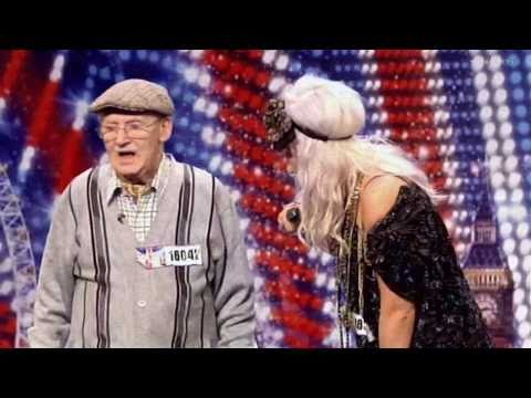 Ted & Grace on Britain's Got Talent 2011 Week 2