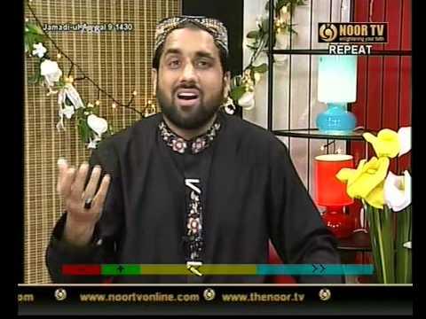 PUNJABI NAAT(Mera Iman Aye)QARI SHAHID MAHMOOD IN NOOR TV.BY   Naat E Habib