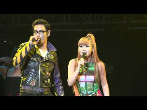 110715 GD & TOP (Feat Park Bom) - Oh Yea @ Singapore Korean Music Wave KMW 2011