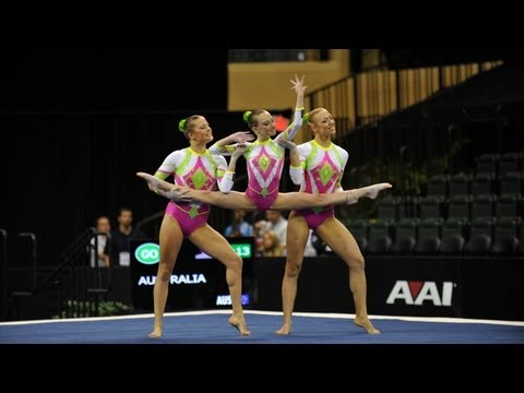 WC Orlando (USA) 2012 -- Australia, Women's Group