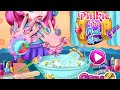 Фрагмент с начала видео - My Little Pony Video Games - Pinkie Pie Nail Spa Game