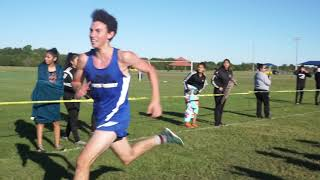 NFH Runner Coming Around the Corner to Bring Home a Medal