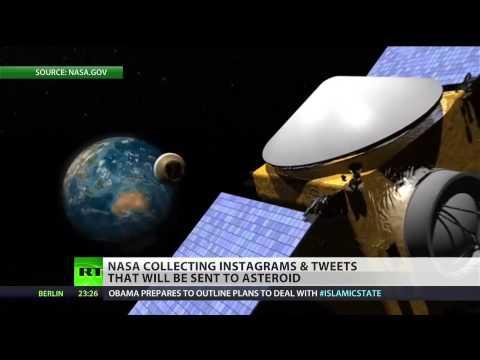 (NASA) sending Twitter, Instagram timecapsule to asteroid  9/11/14