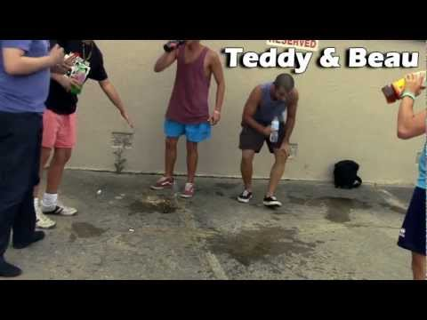 Cinnamon Challange with Teddy and the Janoskians