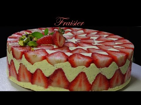 Fraisier / Strawberry Cake – Bruno Albouze – THE REAL DEAL