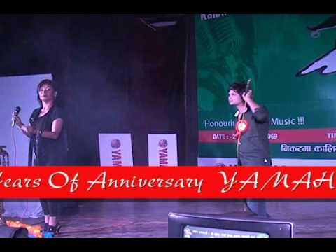 kamal Khatri performing @Kalika FM music award 2069