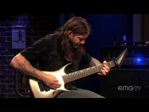 Christian Olde Wolbers, on heavy guitar sounds with his EMG 81-7X on EMGtv