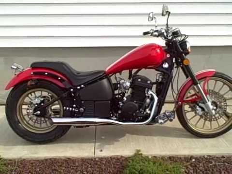 Johnny Pag Pro Street 300cc Cruiser (Red) @ CBXManMotorcycles.com