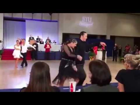 АНУ-ын Үндэсний латин бүжгийн аварга Т.Бумчин /бичлэг/