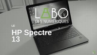 """Vidéo : Test """"les Numériques"""" HP Spectre 13"""