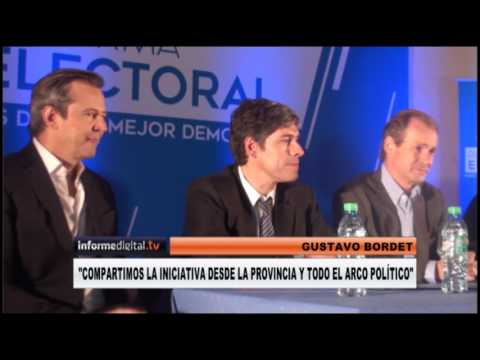 <b>Foro.</b> Lanzaron el Foro de la Reforma Electoral en Entre Ríos
