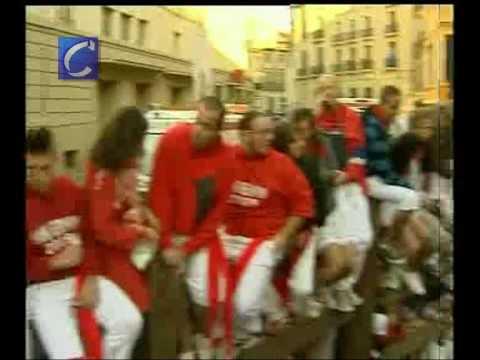 San Fermín: Veloz segundo encierro en Pamplona