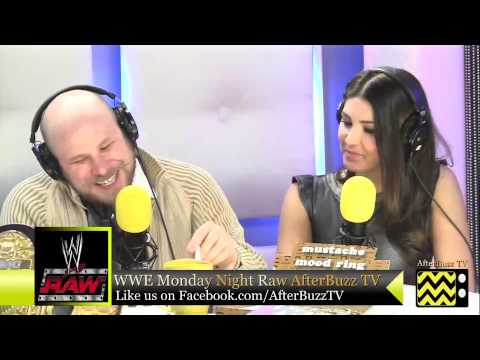 WWE's Monday Night Raw for January 14th, 2013 | AfterBuzz TV AfterShow