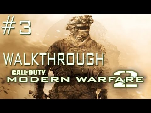 Call of Duty: Modern Warfare 2 - Call of Duty: Modern Warfare 2 Walkthrough - Mission 3 Cliffhanger (PC/PS3/Xbox 360) -8ZyBJmAUgmY