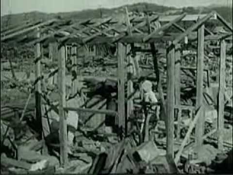 Die Wirkung der Atombombe in Hiroshima und Nagasaki