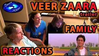 VEER ZAARA trailer FAMILY Reactions