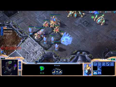 Destiny learning protoss [Game 2] - Starcraft 2 Ladder