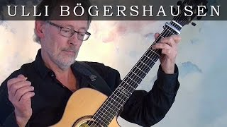 "Ulli Boegershausen plays ""Don't think twice, it's alright"" comp. by Bob Dylan"