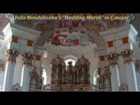 Felix Mendelssohn   Wedding March in C major  A midi arrangement for Pipe Organ Instrument