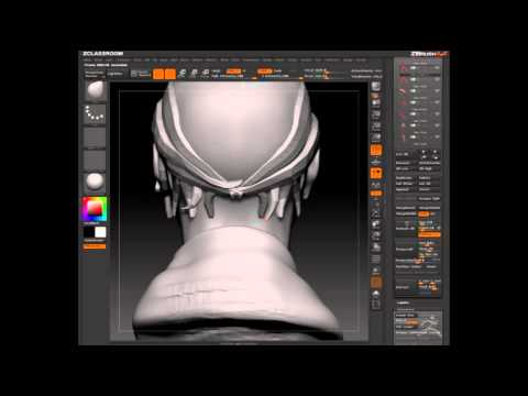 Topology Brush Hair