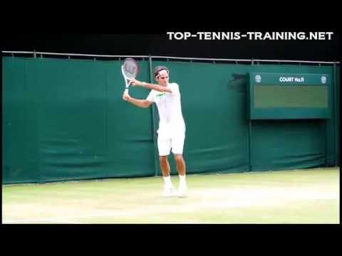 Roger Federer Training 2012