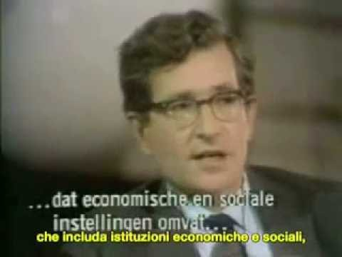 Foucault - Chomsky: PARTE I - Potere e Società Futura (ita)
