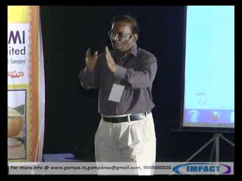 CAN DO ! ATTITUDE by Dr.T S Rao at IMPACT 2012 Hyderabad