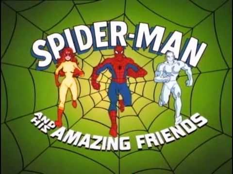 Spiderman y sus increibles amigos - Opening