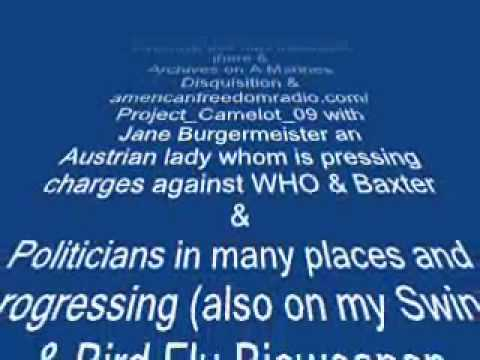 Vaccine Patent before Virus SMOKING GUN EVIDENCE against Baxter 2009-8-16