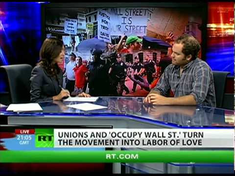 Unions unify Occupy Wall Street
