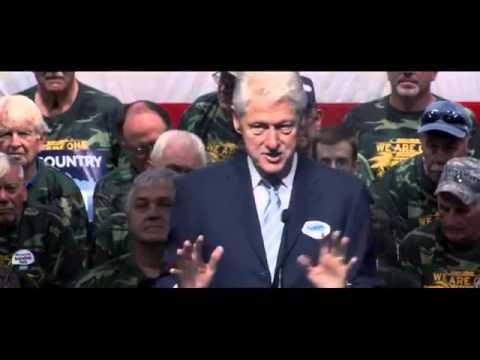 Bill Clinton Stumps for Alison Lundergan Grimes in Kentucky - New  10/3/14  (Democrats))