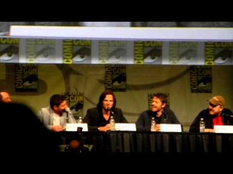 Comic Con 2012 Supernatural Panel Clip 3