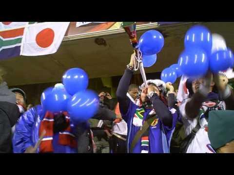 南アW杯:日本戦現地の盛り上がり♪