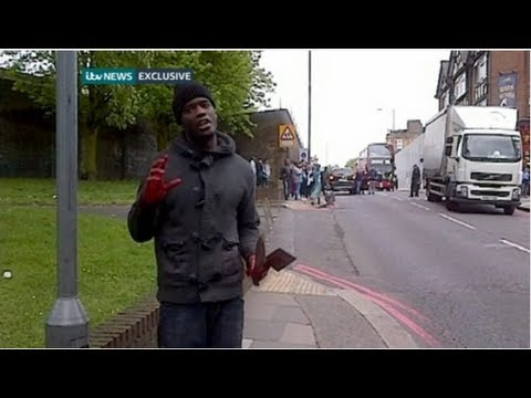 Woolwich machete attack caught on film  - Truthloader