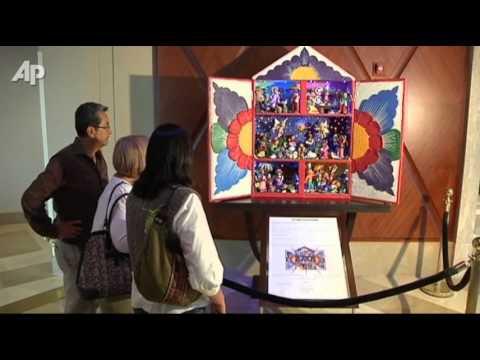 Raw Video: -Sweet- Nativity Scene in Peru