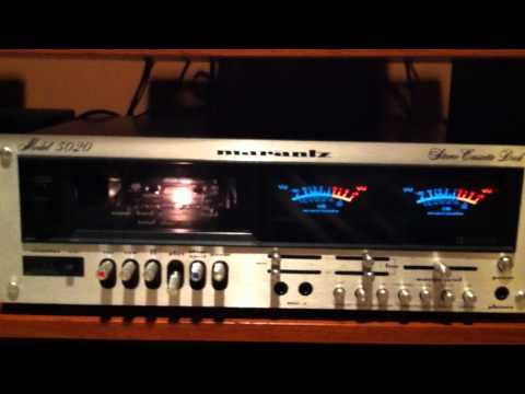 Marantz 5020 Cassette Deck Review and Demo