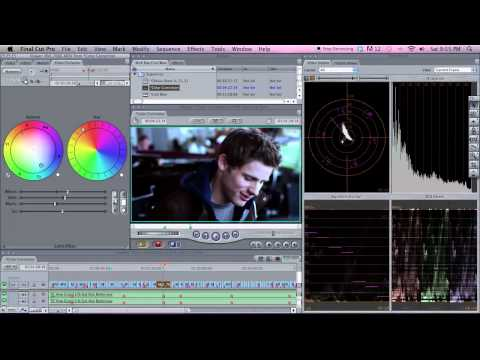 Basic Color Correction in Final Cut Pro