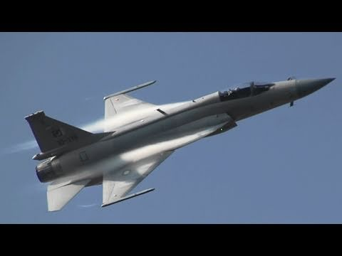 パキスタン空軍 JF-17 枭龙 Pakistan Air Force Air Show china 2010