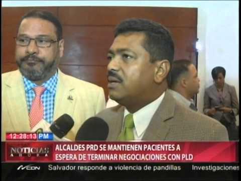 Alcaldes PRD se mantienen pacientes a espera…