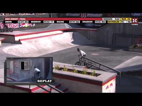 X Games 17:  Garrett Reynolds takes home BMX Street Gold