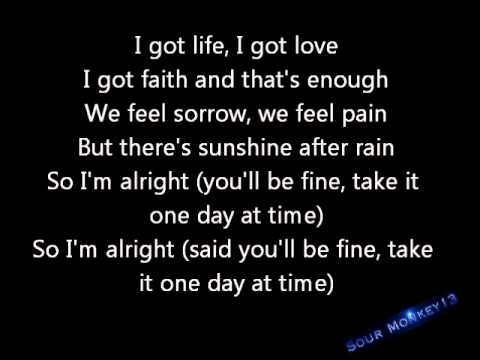 Jake Miller- I'm alright Lyrics